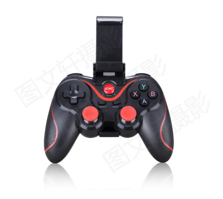 Upgraded version of X3 mobile phone Bluetooth wireless game controller Mobile game controller support iOS / Android handle